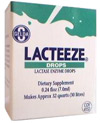 Lacteeze lactase enzyme drops (similar to Lactaid drops)